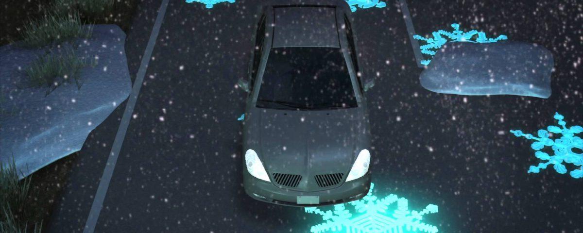 Carretera luminosa